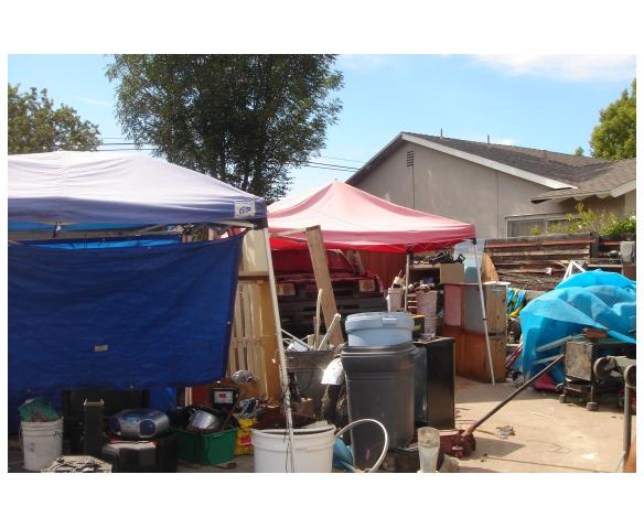 Junk, Improper Storage & Canopies