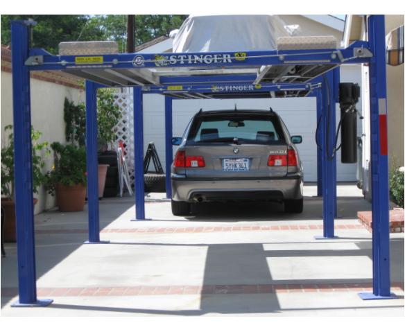 Un-permitted Car-Lift