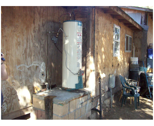 Un-permitted Construction/Structure & Water Heater